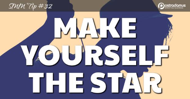 Postradamus Social Media Tip 32: Make yourself the star