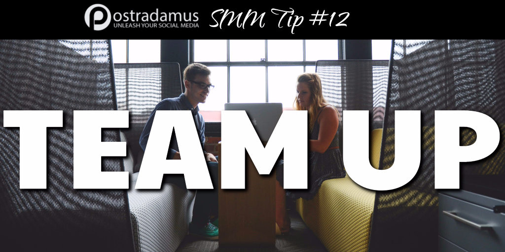 Postradamus Social Media Tip 12: Team up with others