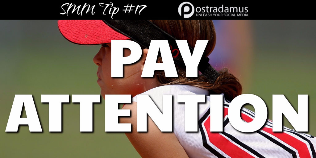 Postradamus Social Media Tip 17: Watch for feedback from your fans