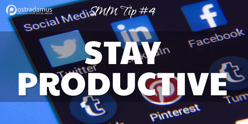 Postradamus Social Media Tip 4: Use your time wisely
