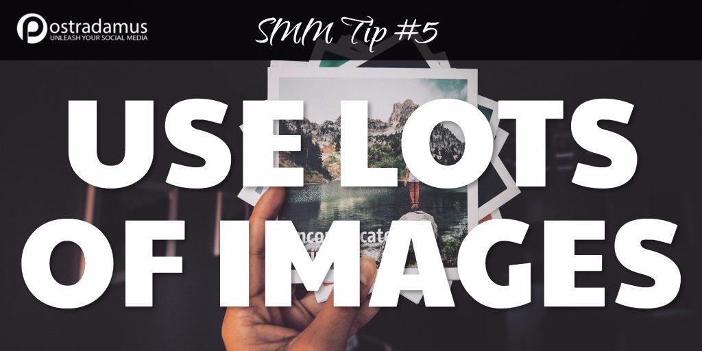 Postradamus Social Media Tip 5: Use visuals