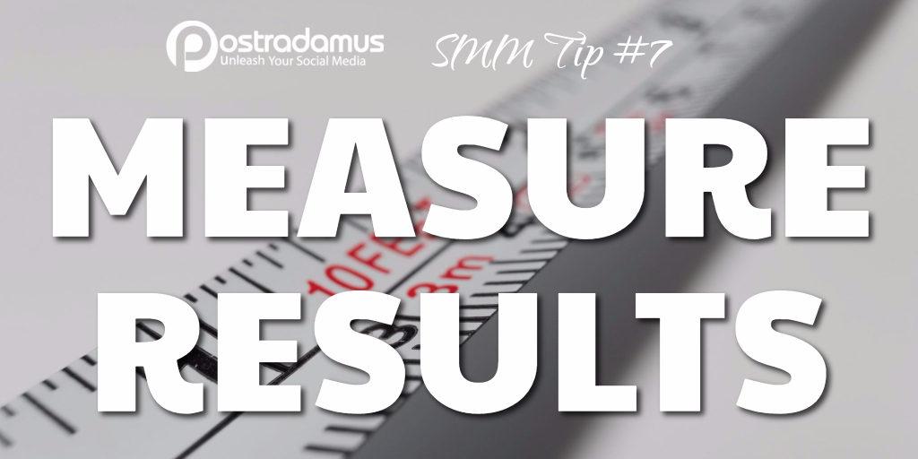 Postradamus Social Media Tip 7: Measure your results