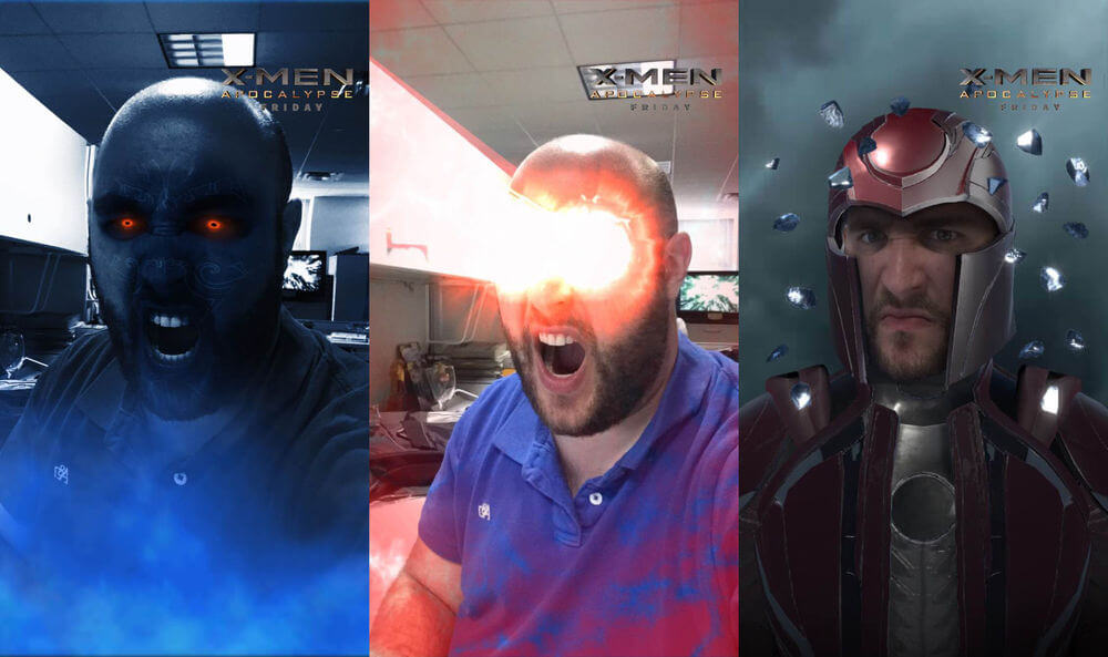 X-Men Snapchat Lenses